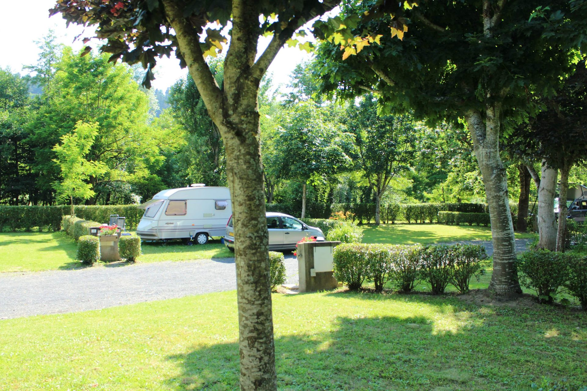 Emplacements pour camping